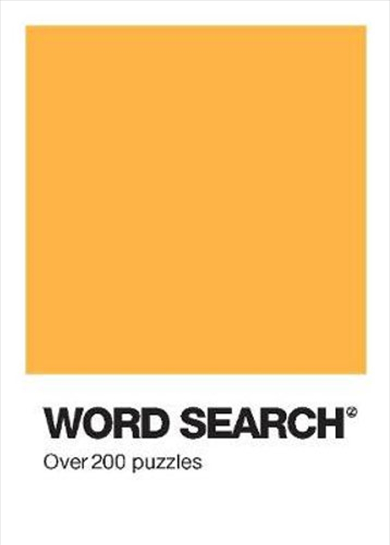 Colour Block Puzzle - Word Search   Paperback Book
