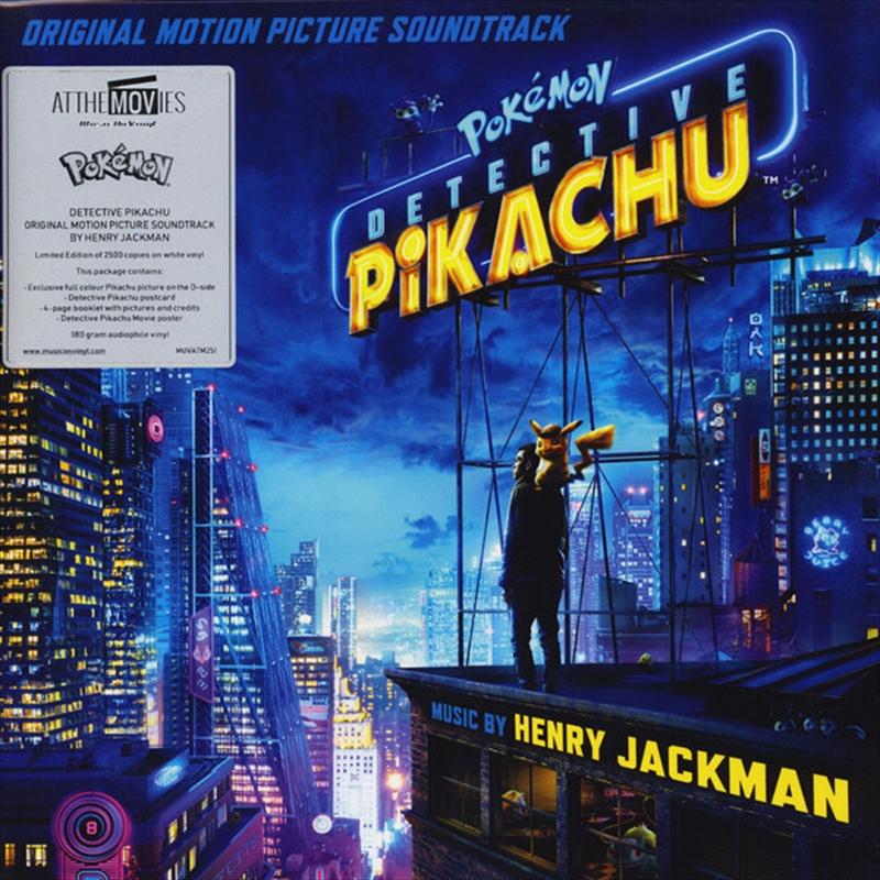 Pokemon Detective Pikachu   Vinyl