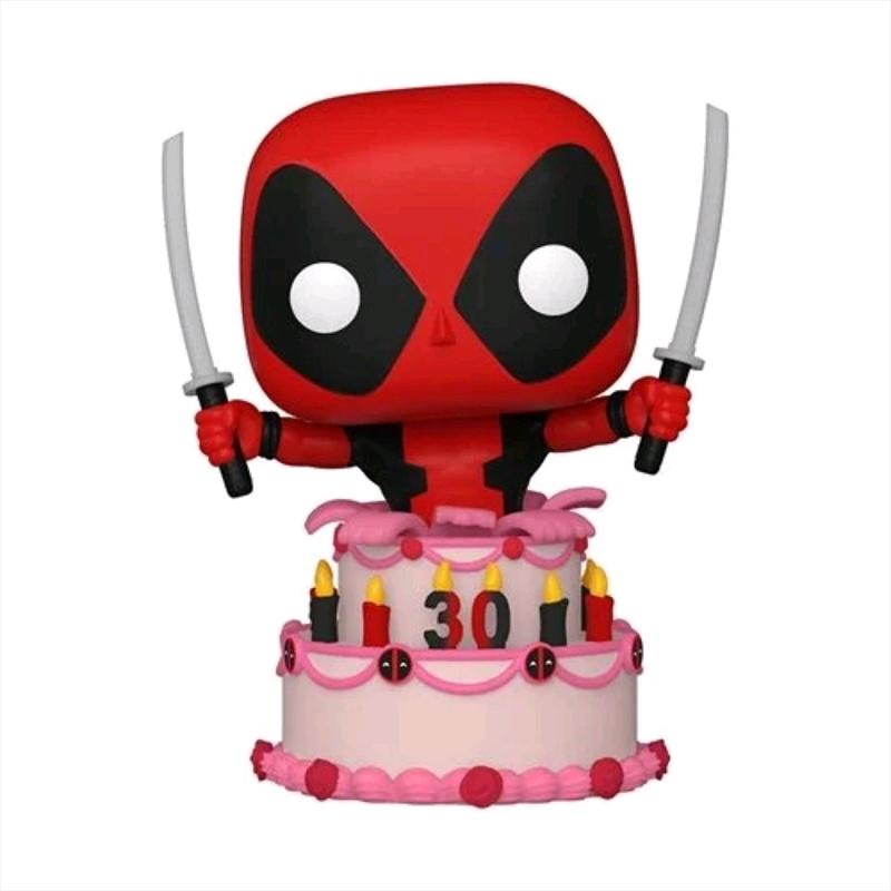 Deadpool - Deadpool in Cake 30th Anniversary Pop! Vinyl   Pop Vinyl