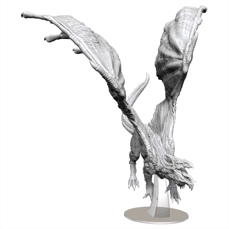 Dungeons & Dragons - Nolzur's Marvelous Unpainted Minis: Adult White Dragon   Games