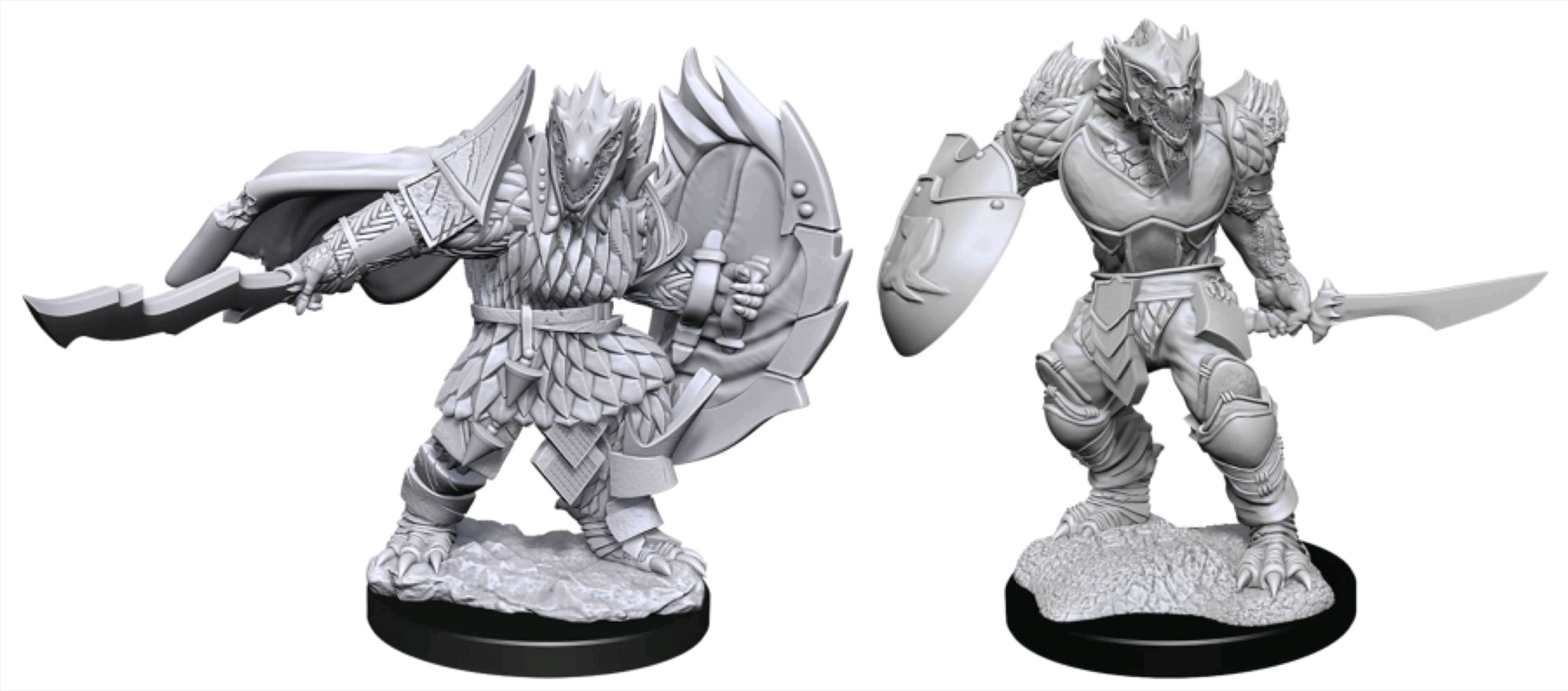 Dungeons & Dragons - Nolzur's Marvelous Unpainted Minis: Dragonborn Fighter Male   Games