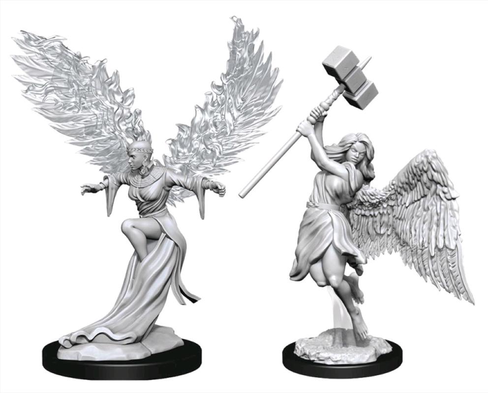 Pathfinder - Deep Cuts Unpainted Miniatures: Balisse & Astral Deva   Games