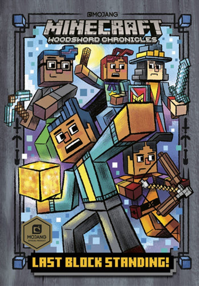 Minecraft: Last Block Standing   Paperback Book