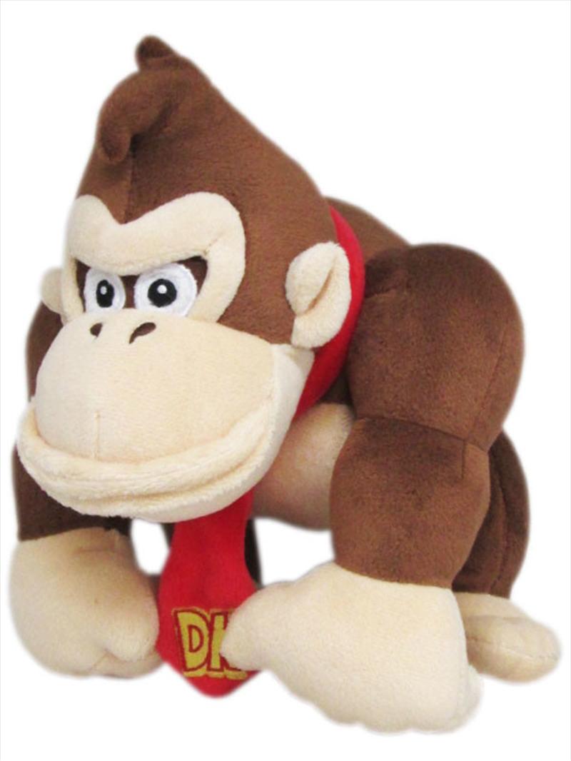 Super Mario Bros Plush Donkey Kong 10'   Toy