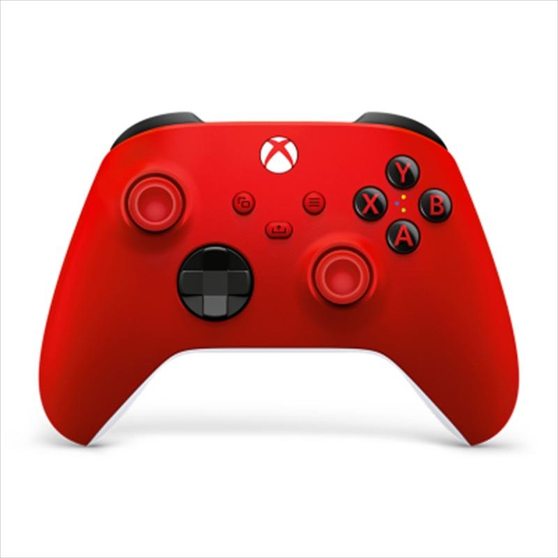 Xbox Controller Pulse Red   XBox