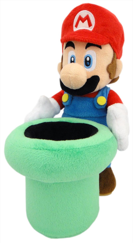 Super Mario Bros Plush Mario Warp Pipe 9' | Toy