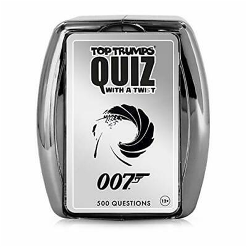 Top Trumps - James Bond Quiz | Merchandise