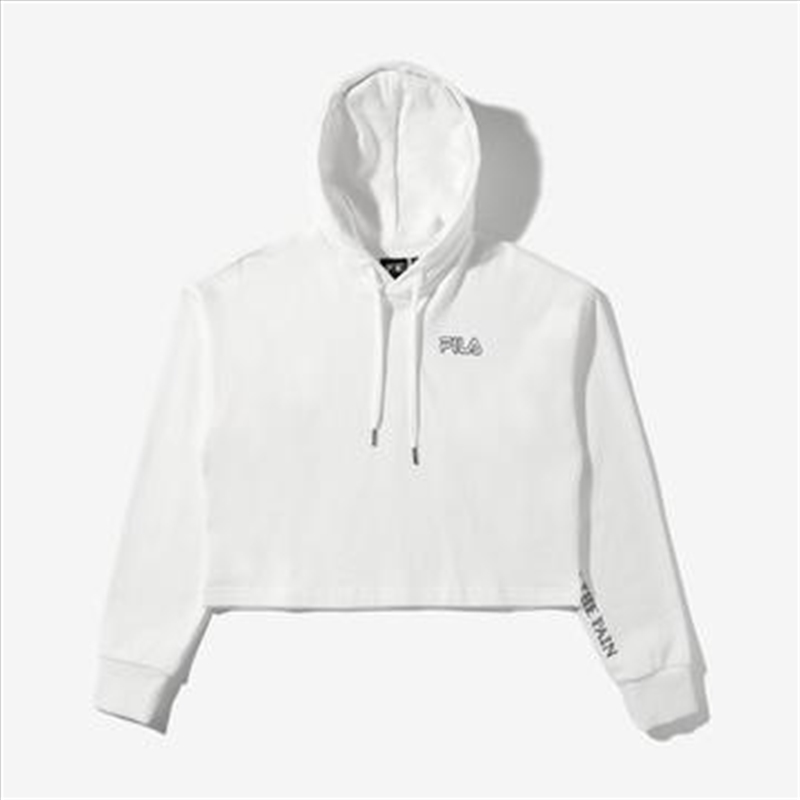 Now On - White Hoodie | Merchandise