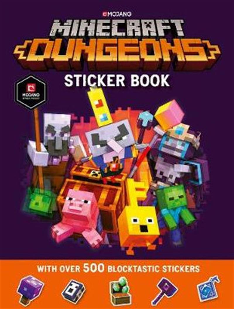 Minecraft Dungeons Sticker Book | Paperback Book