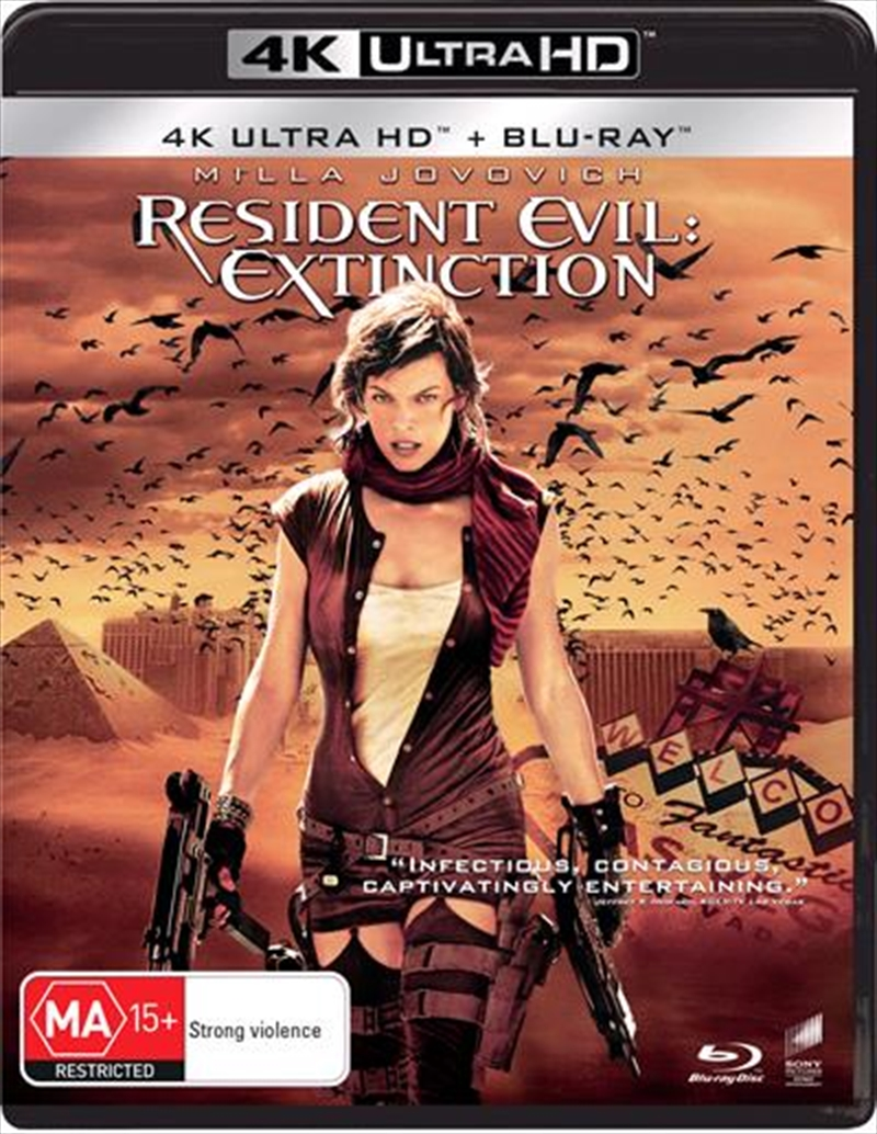 Resident Evil - Extinction - Limited Edition | Blu-ray + UHD | UHD