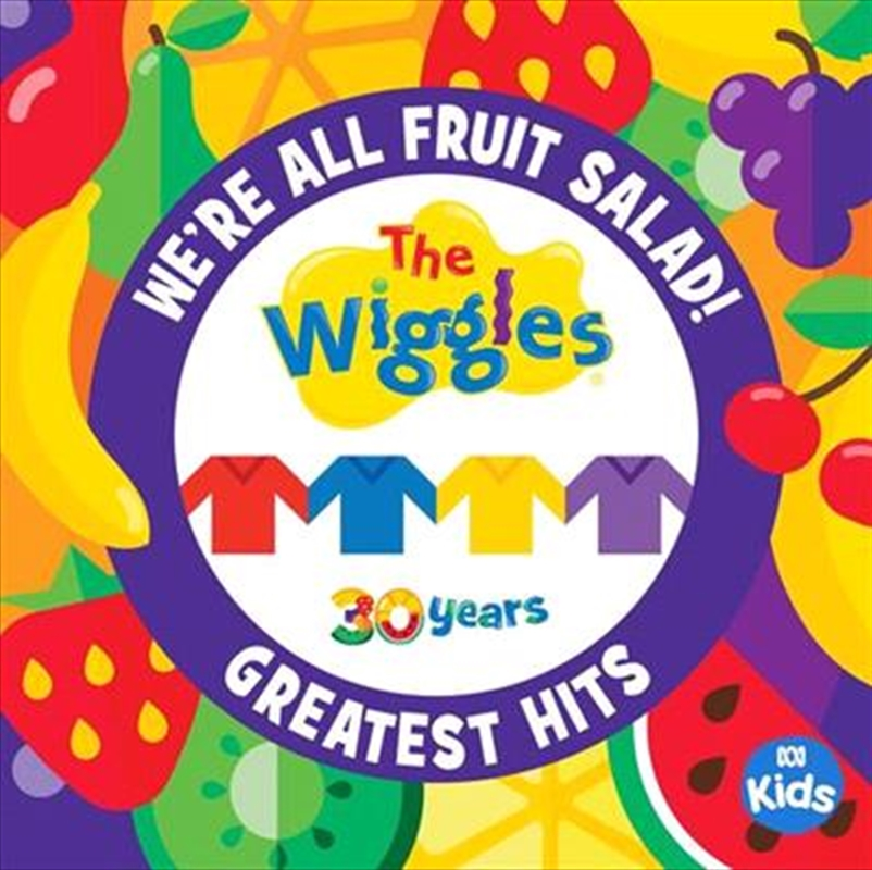 We're All Fruit Salad - The Wiggles' Greatest Hits (BONUS POSTER) | CD