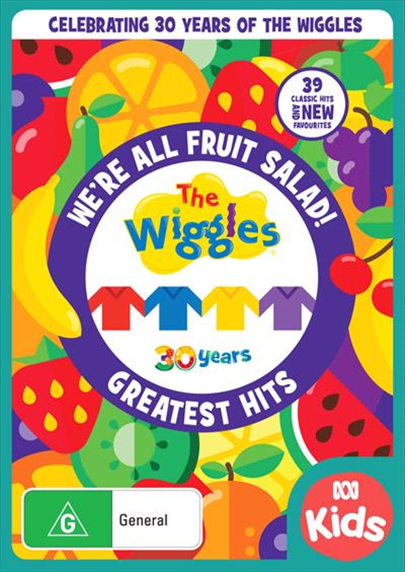 Wiggles - We're All Fruit Salad, The | DVD
