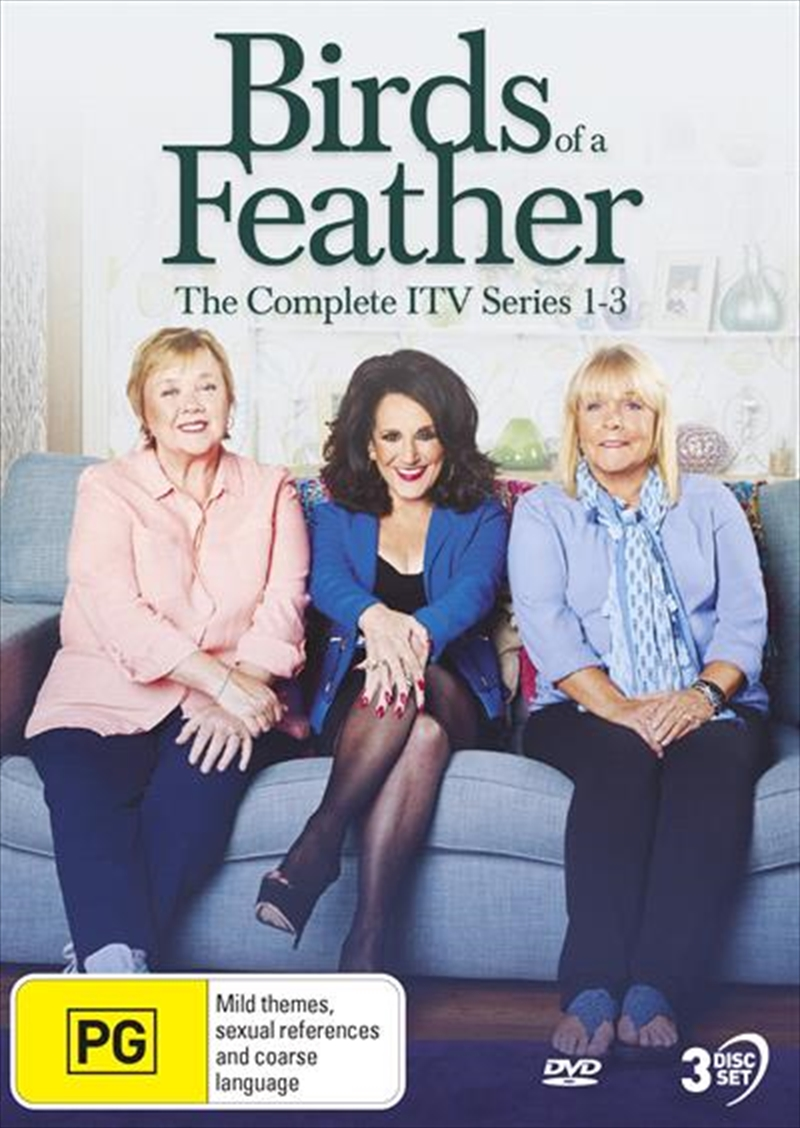 Birds Of A Feather - The Birds Are Back - Series 1-3 | Complete Series - ITV | DVD