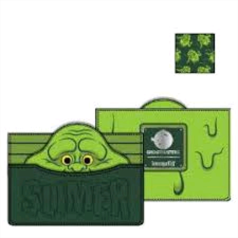 Loungefly - Ghostbusters - Slimer Card Holder   Apparel