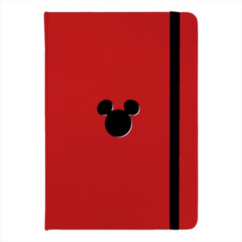 Mickey Red Premium Notebook | Merchandise