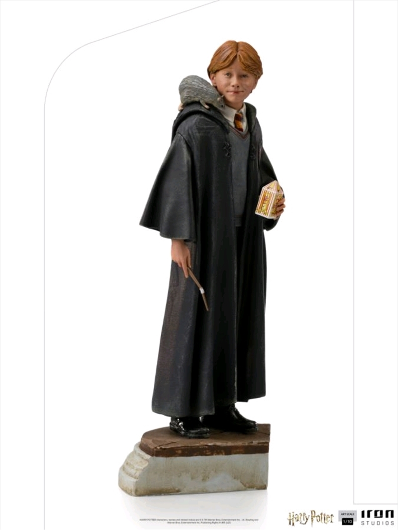 Harry Potter - Ron 20th Anniversary 1:10 Scale Statue | Merchandise