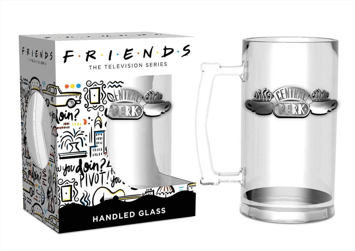 Friends Central Perk Stein Glass   Merchandise