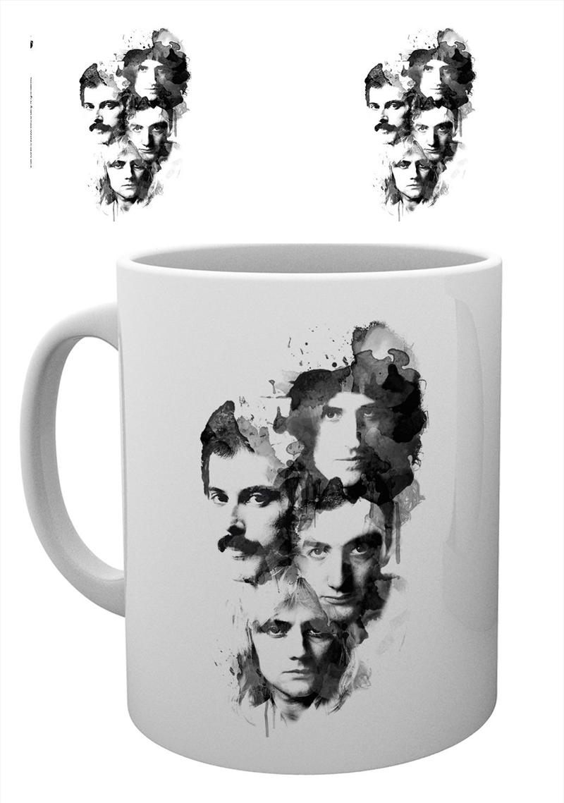 Queen Faces Mug Freddie Mercury   Merchandise