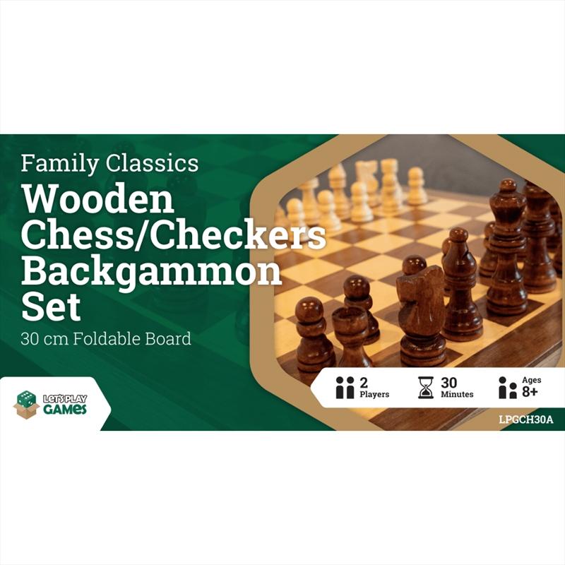 LPG Wooden Folding Set 30cm | Merchandise