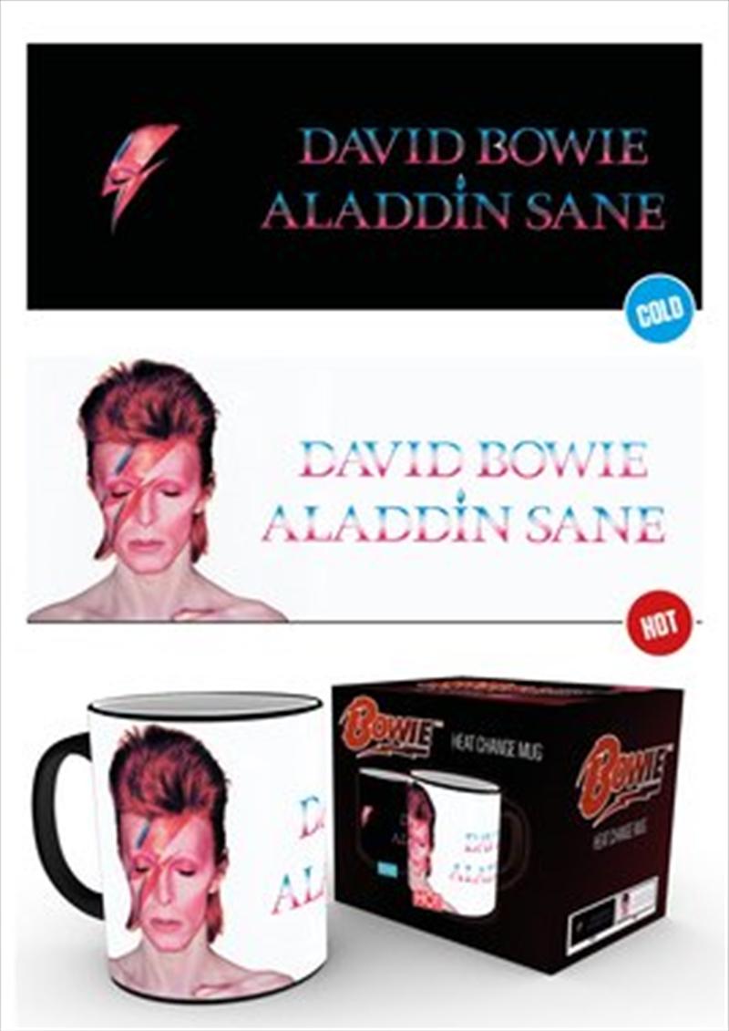 David Bowie Aladdin Sane HEAT CHANGING Mug   Merchandise