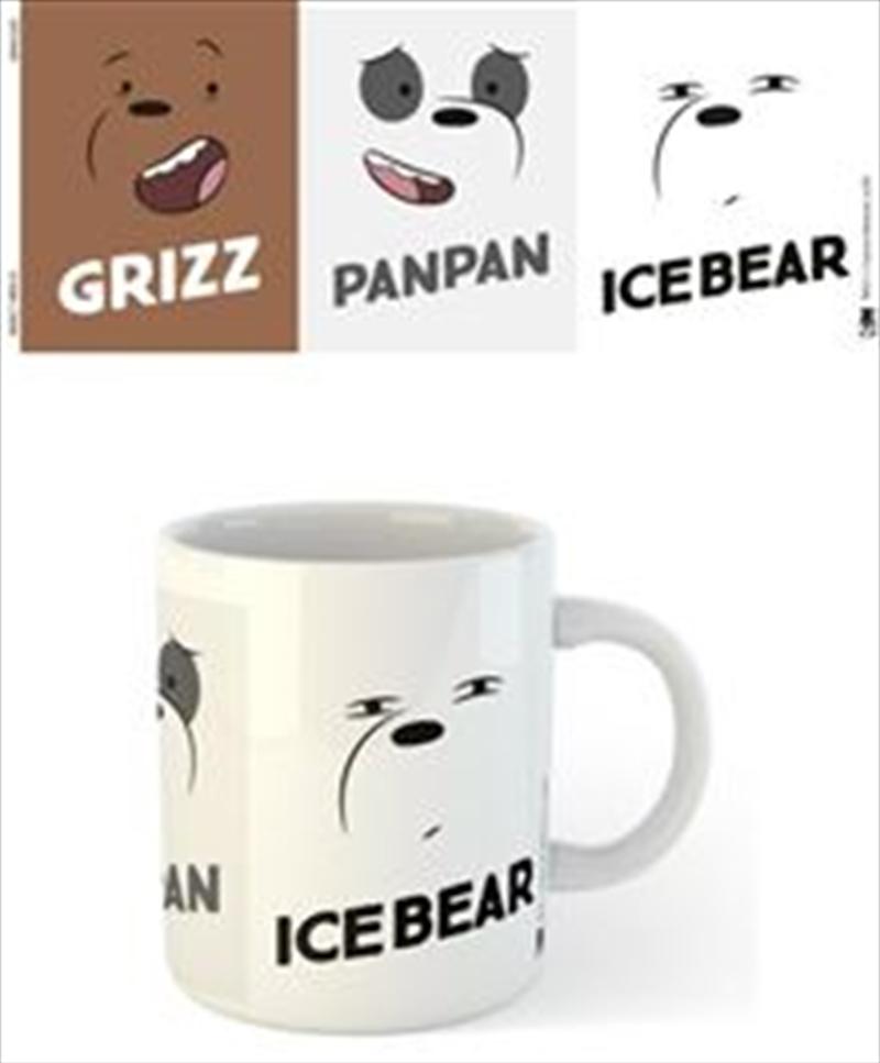 We Bare Bears - Faces   Merchandise