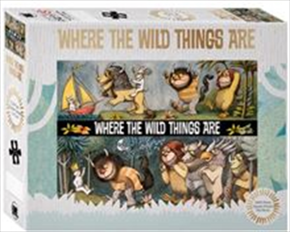 Where The Wild Things Are Puzzle | Merchandise