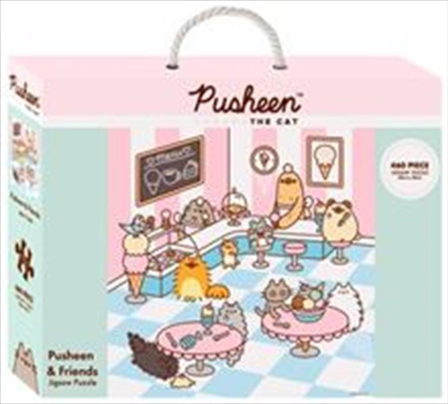 Pusheen 460 Piece Jigsaw Puzzle   Merchandise