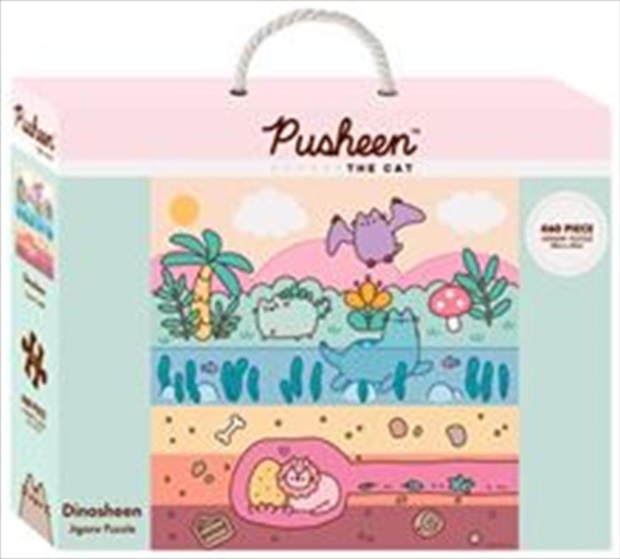 Pusheen Dinosheen 460 Piece Puzzle | Merchandise