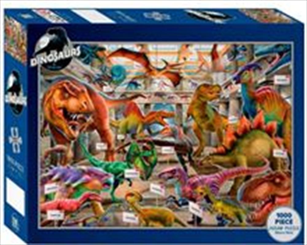 Dinosaur Exhibition 1000 Piece Puzzle | Merchandise