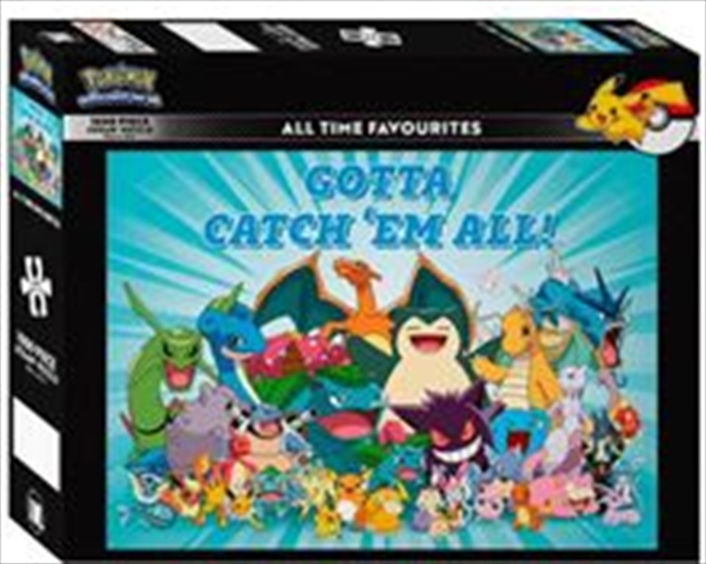 Pokemon All Time Favourites 1000 Piece Puzzle | Merchandise