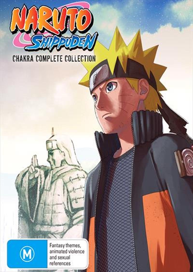 Naruto Shippuden Chakra | Complete Collection | DVD