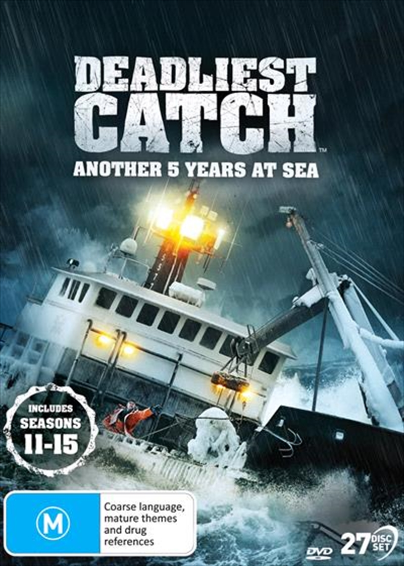 Deadliest Catch - Another 5 Years At Sea - Season 11-15 | DVD