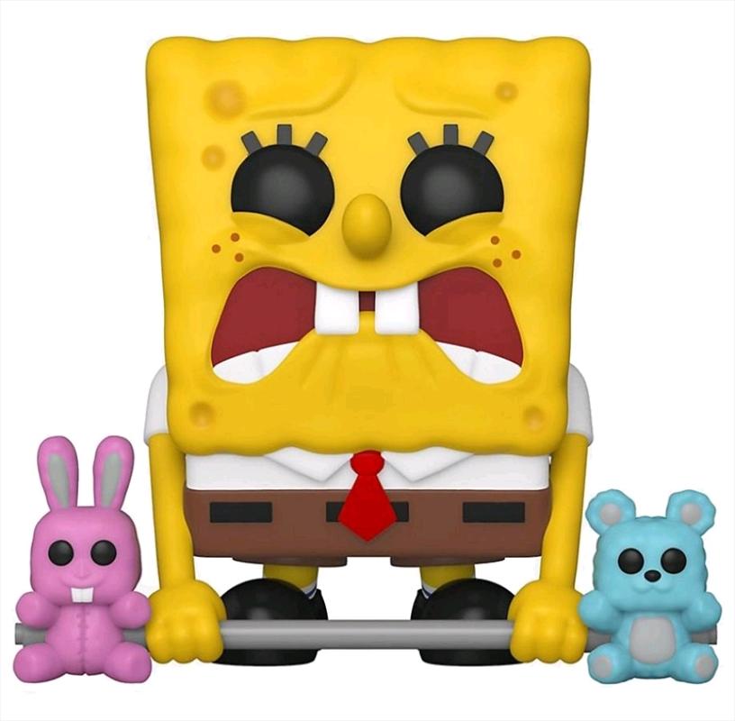 SpongeBob SquarePants - SpongeBob Weightlifter US Exclusive Pop! Vinyl [RS] | Pop Vinyl