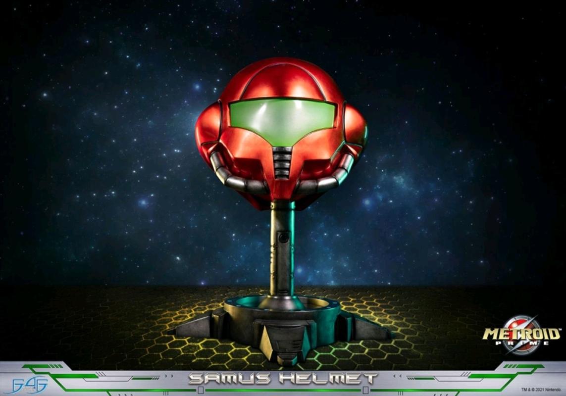 Metroid Prime - Samus Helmut   Collectable