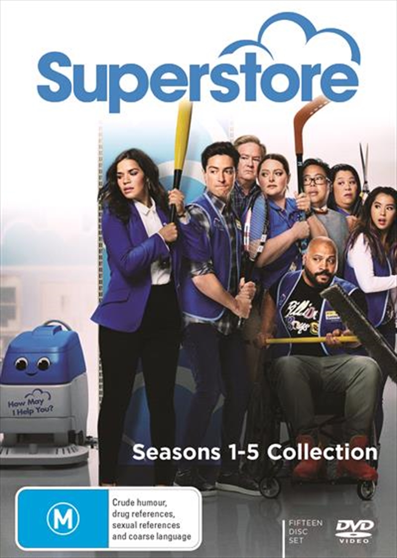Superstore - Season 1-5 | Collection | DVD