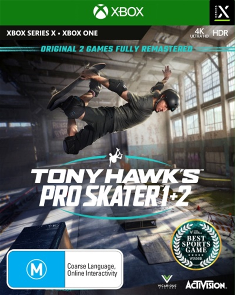 Tony Hawks Pro Skater 1 And 2   XBOX Series X