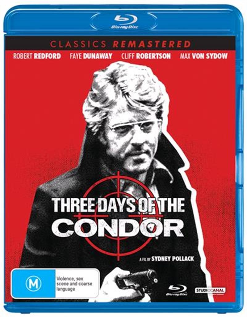 Three Days Of The Condor | Classics Remastered | Blu-ray