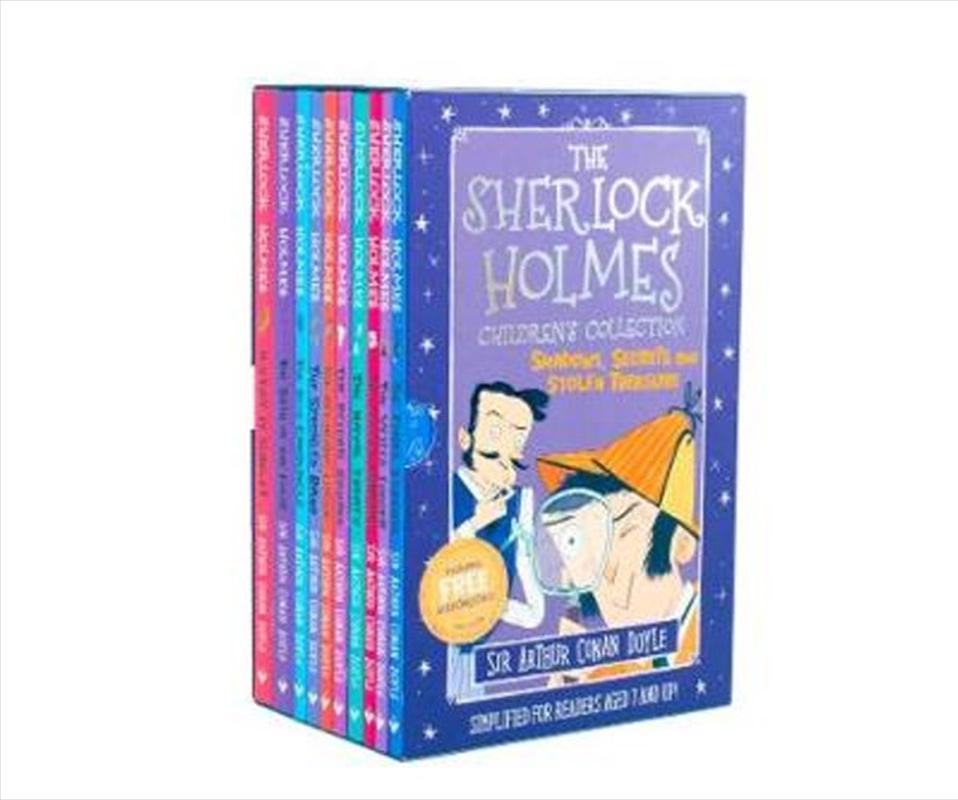 Sherlock Holmes Children's Collection Shadows, Secrets and Stolen Treasure | Paperback Book
