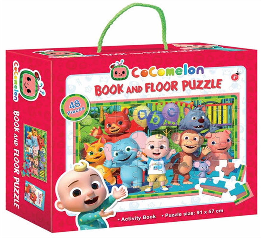 Cocomelon Book And Floor Puzzle | Merchandise