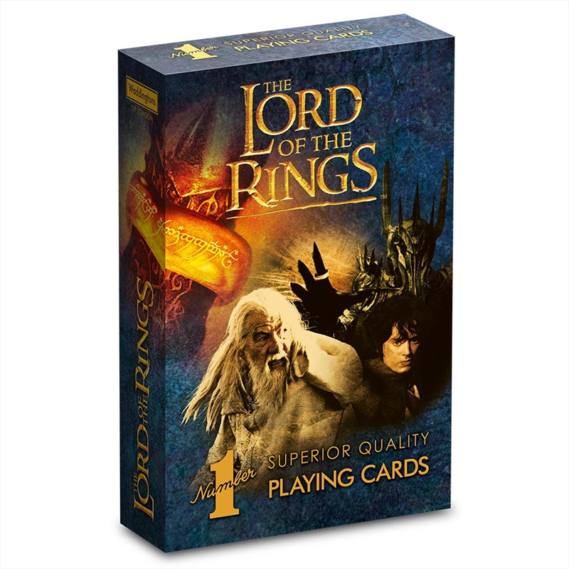 Lord Of The Rings Cards | Merchandise