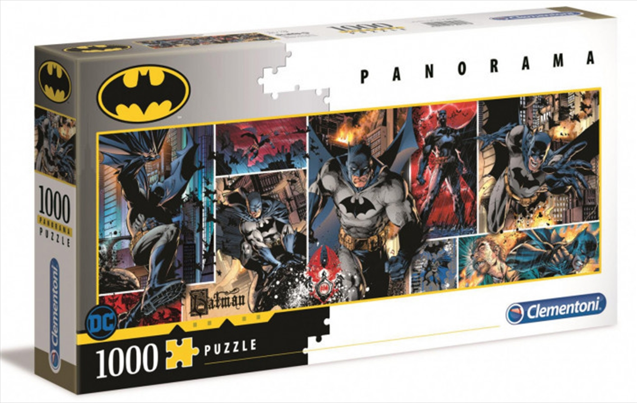 Clementoni Puzzle Batman Panorama Puzzle 1,000 pieces | Merchandise