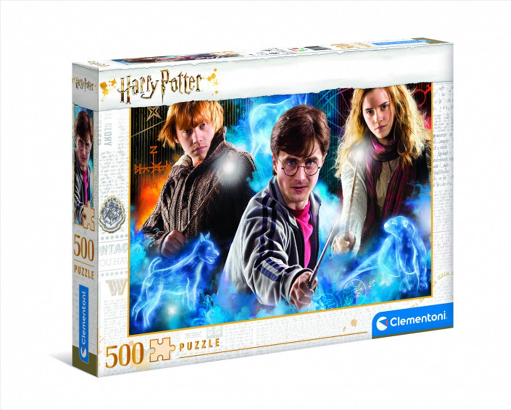Clementoni Puzzle Harry Potter Puzzle 500 pieces | Merchandise