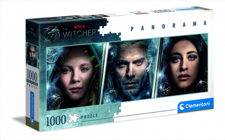Clementoni Puzzle Netflix The Witcher Panorama Puzzle 1,000 pieces   Merchandise