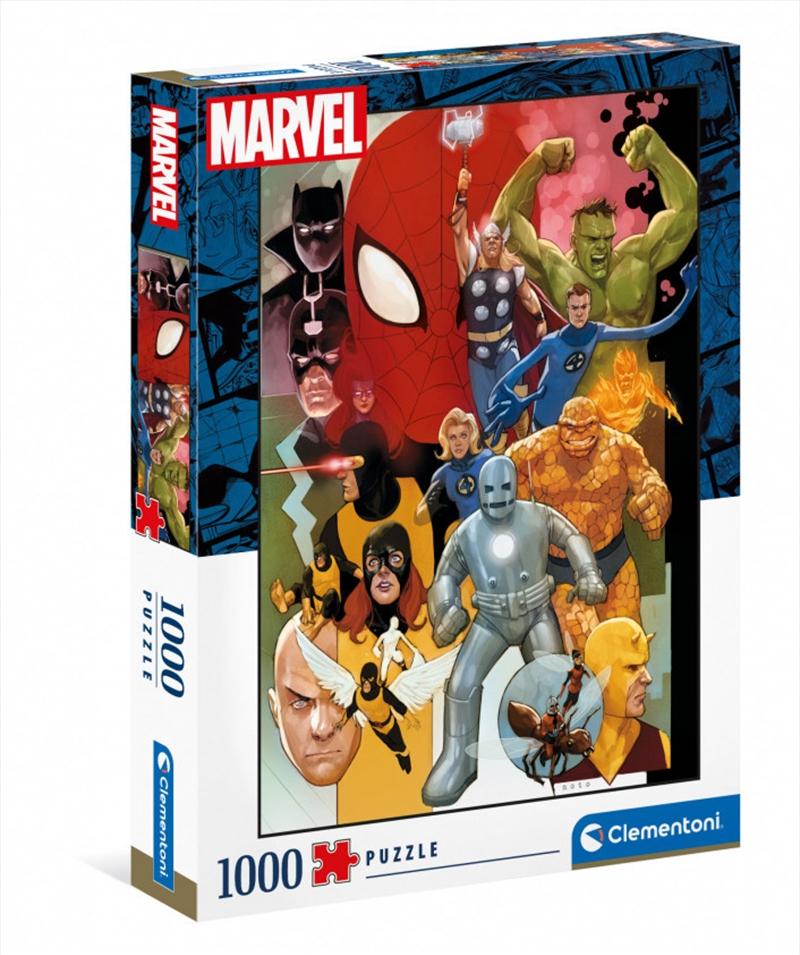 Clementoni Puzzle Marvel Puzzle 1,000 pieces | Merchandise