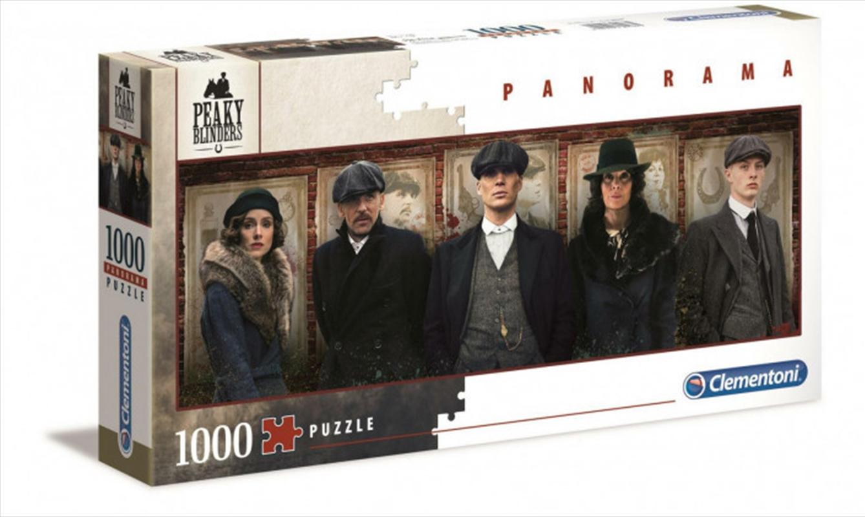 Clementoni Puzzle Peaky Blinders Panorama Puzzle 1,000 pieces | Merchandise