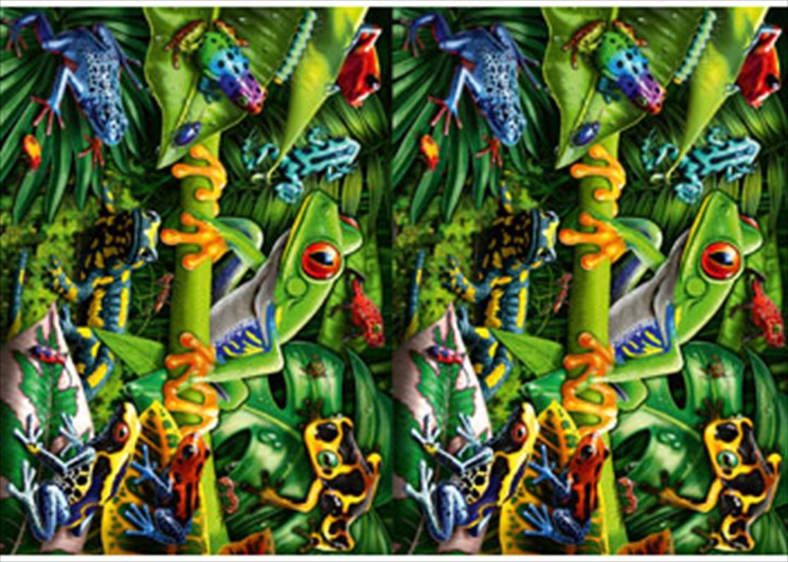 Amazing Amphibians 35 Piece Puzzle   Merchandise