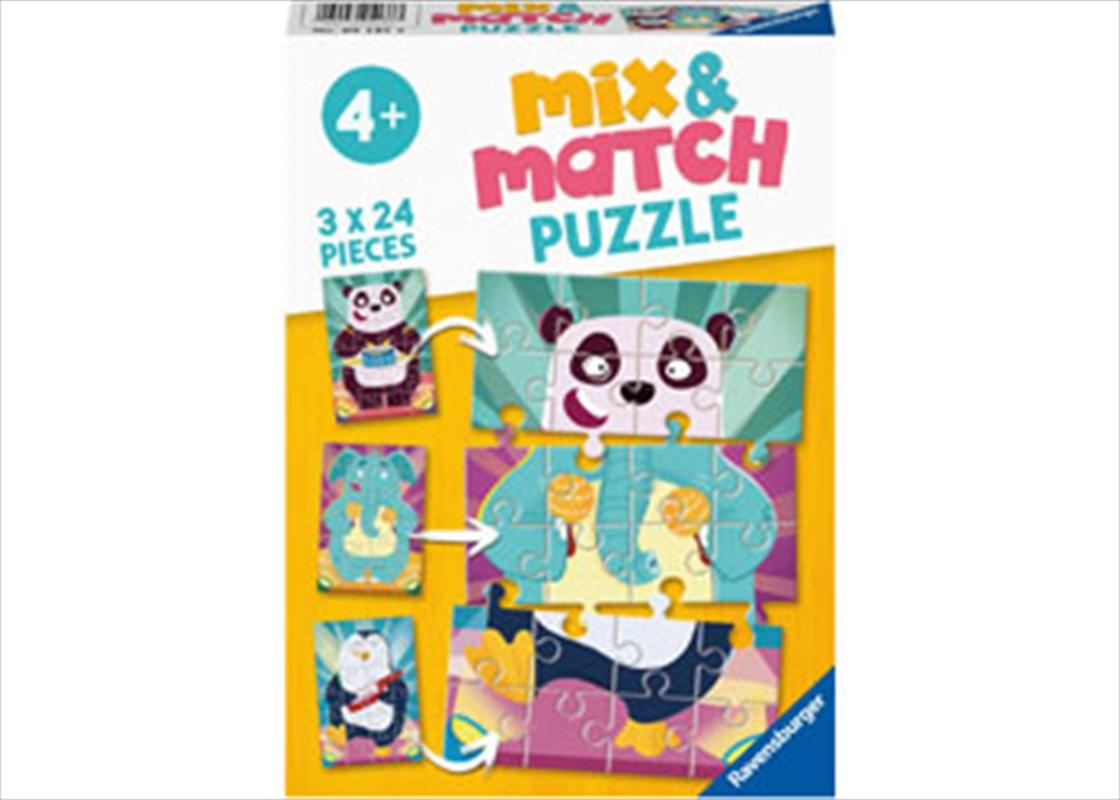 Animal Rock 3 X 24 Piece Puzzle   Merchandise