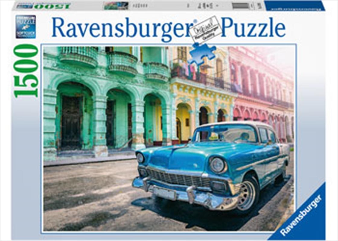 Cars Of Cuba Puzzle 1500 Piece   Merchandise