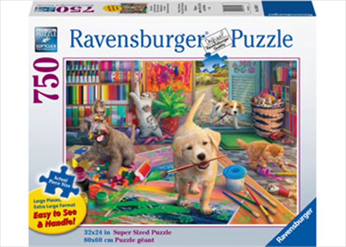 Cute Crafters 750 Piece Large Format Puzzle | Merchandise