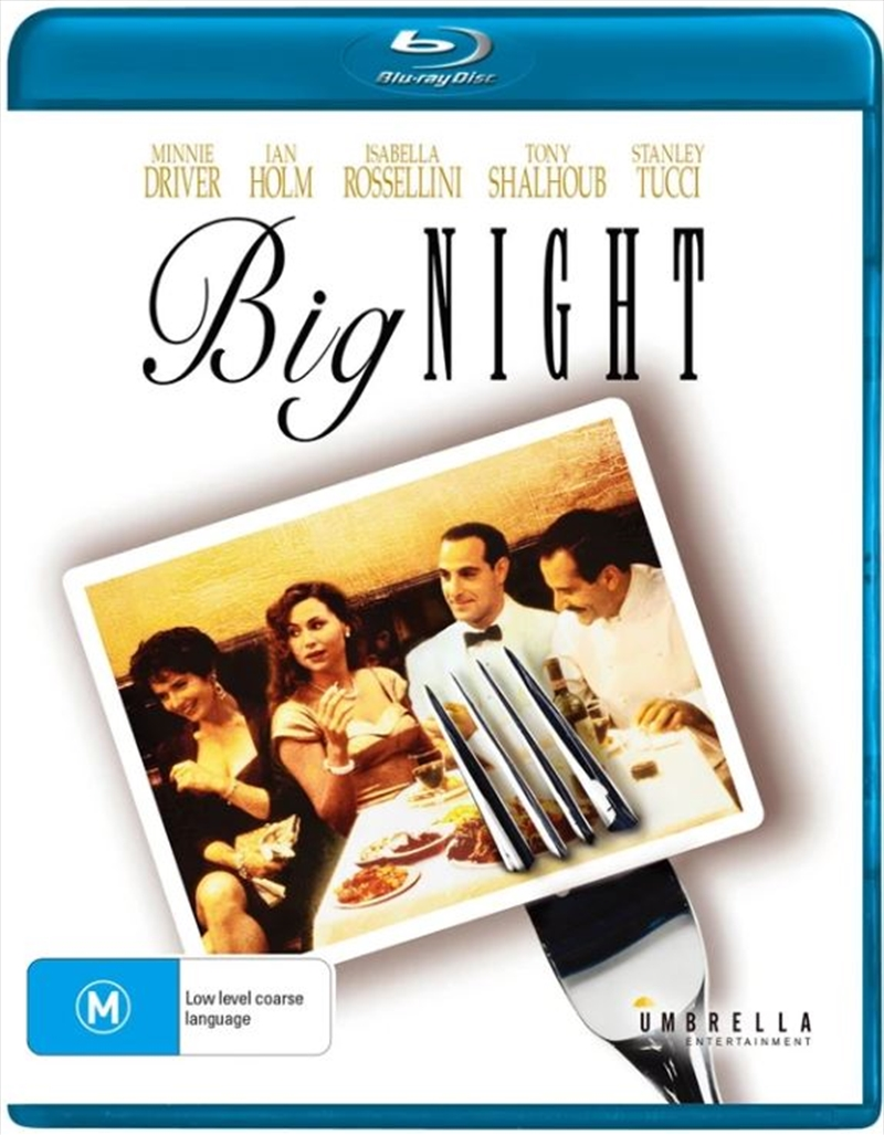 Big Night   Blu-ray